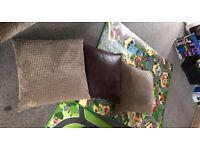 sofa cushions x3