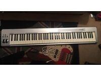 88 Key M-Audio MIDI Keyboard