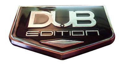 "30/"" SM NEW chrome 30/"" INCH SIZE MATTERS wheel rim size badges emblems DUB 2"