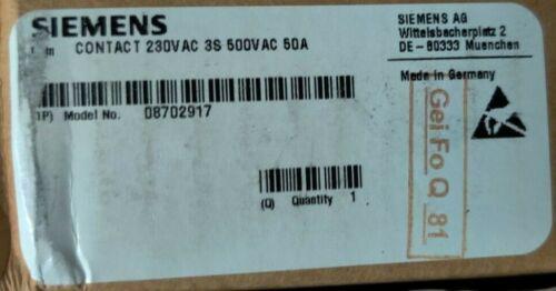 Siemens 230V Contactor 08702917