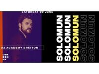 Solomun Tickets for Sales 9 June @ 02 Brixton - £35 (RRP £45)