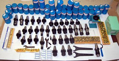 135 Techniks Cat 40 Tooling Kit For Mori-seiki Cnc Mill-er Chuckstudcolletemh