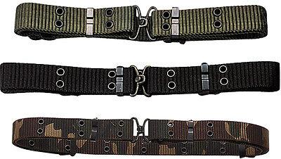 Mini Nylon Belt - Military Mini Pistol Belt w/ Metal Buckle (50