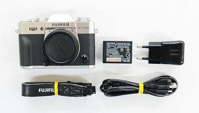 # Fuji Fujifilm X-T30 26.1MP Mirrorless Camera - Silver