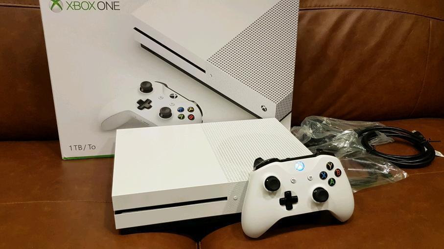 Xbox One 1TB Slim White