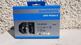 Shimano PD-520 MTB PEDALS