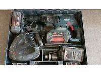 BOSCH 36V SDS hammer and chisel drill