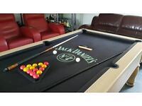 Jack Daniels pool table