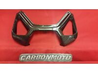 DUCATI PANIGALE 899 1199 GLOSS CARBON FIBRE SEAT AIR INTAKE REAR VENTS