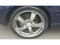 "19 "" alloys with good tyres mercedes clk"
