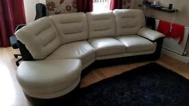 Corner cuddle sofa + 3 seater sofa