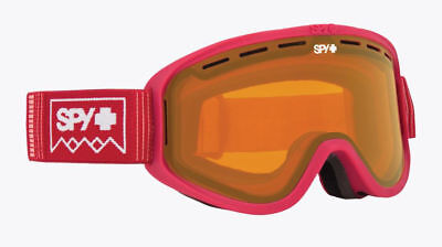 080aa9b4bfd0 SPY - WOOT DEEP WINTER BLUSH SNOW GOGGLES   PERSIMMON One Size