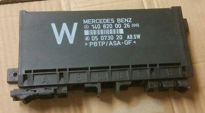 MERCEDES BENZ S CLASS W140 C140 COMFORT CONTROL MODULE 1408200026
