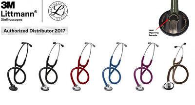 3M Littmann Master Cardiology Stethoskop-Kostenlos Lasergr. 1-2 Tage EU Versand