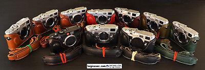LUIGI PREMIUM CASE,BUMP MODEL,for FILM LEICA M2-M3-M4-M6-M7-MP-M-A+UPS INCLUDED! (Film-leica)