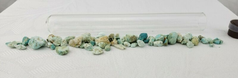 NATURAL BLUE WHITE TURQUOISE ROUGH SPECIMENS COLLECTED AROUND THE UNITED STATES