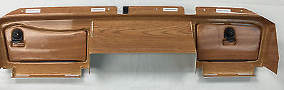EZ GO RXV GOLF CART FULL DASH COVER -WOODY-Fits 2008 to 2014 RXV