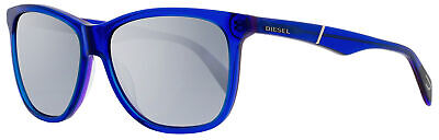Diesel Rectangular Sunglasses DL0222 92C Blue 57mm 222 for sale  Shipping to India