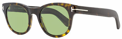 Tom Ford Unisex Sunglasses TF531 Fisher 52N Dark Havana 49mm (Sunglasses Fisherman)