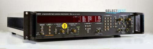 PHILIPS PM6654 PROGRAMMABLE HI RES. 1.5 GHz FREQUENCY COUNTER W/OPTs (REF 011G)