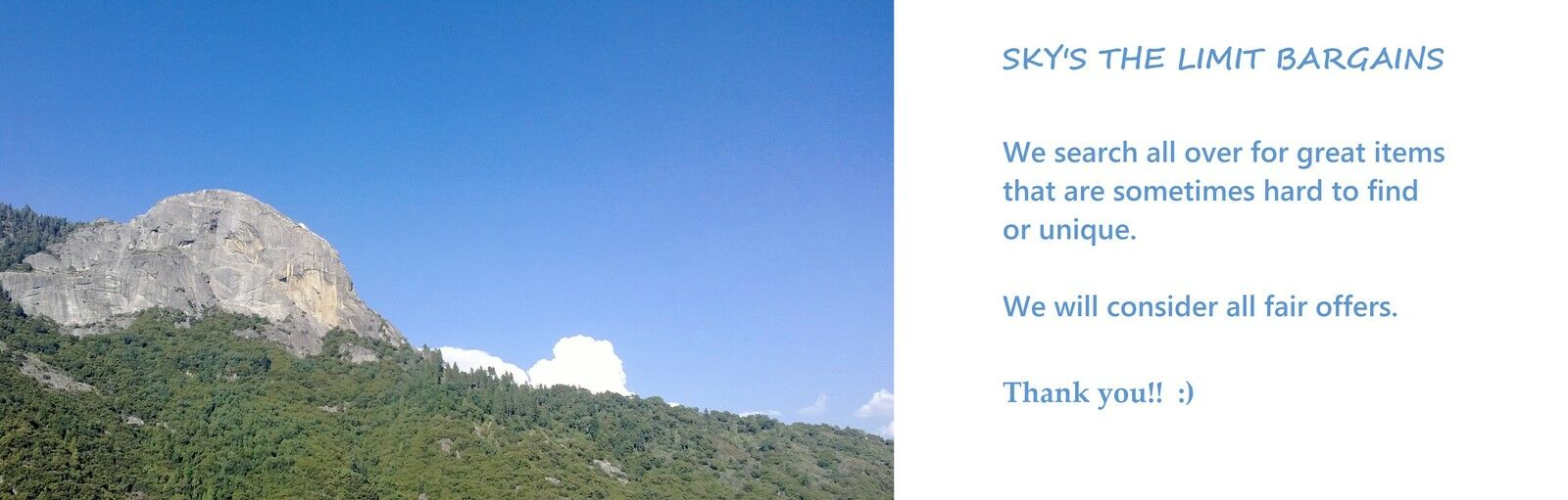 Sky's the Limit Bargains