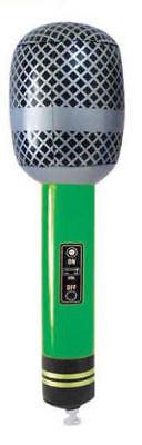 Gonfiabile Verde Microfono - 25cm - Giochi Bottino per Pinata/Gadget e Accessori