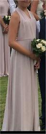 Beautiful Coast Bridesmaid Dress - fit age 10-12 approx. £25