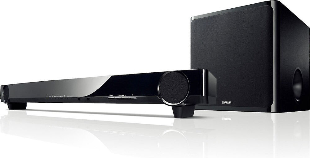 yamaha yas cu201 soundbar with wireless subwoofer in