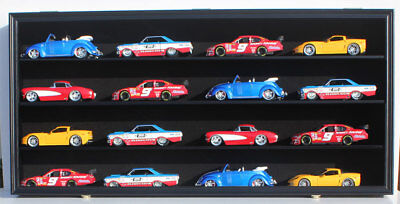 Diecast Car Wall Display Case (1/24 Scale Diecast Model Car Hot Wheels Display Case Wall Cabinet)