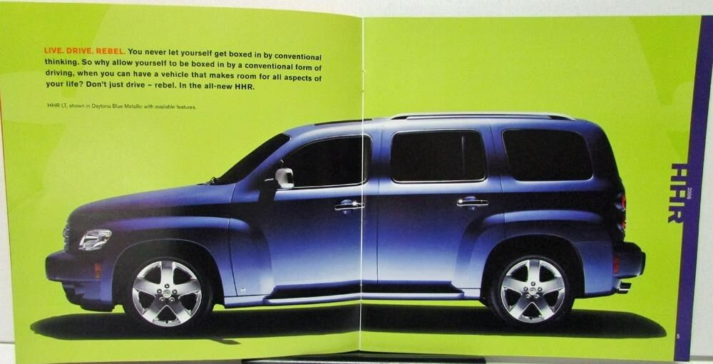 2006 Chevrolet HHR Canadian Dealer Sales Brochure