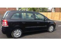 Vauxhall zafira 1.7 2010 full service history
