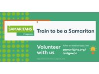 Craigavon Samaritans are recruiting volunteers now - interested just get in touch
