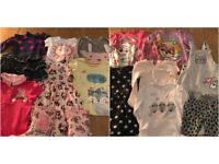 20 GIRLS 3-4 + 4-5 YEARS CLOTHES + SIZE 10 PEPPA PIG WELLIES ALL FOR £6