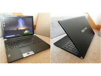 "Very smart Toshiba 15.6"" 3rd Gen i5 HDMI laptop with 120GB SSD. 8GB RAM. Webcam. Bluetooth."