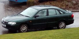 2001 Mazda 626 For Spares or Repairs - Runs Perfectly - 51,281miles - Engine sweet - MOT Failure