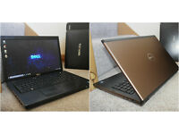 "Very smart bronze coloured Dell Vostro 17"" Core i5 HDMI laptop. 6GB DDR3 RAM. 320GB hard drive."