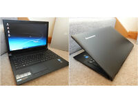 "Perfect condition Lenovo slim 15.6"" HDMI USB 3 laptop. 8GB DDR3 RAM. 320GB hard drive. Webcam. WiFi"