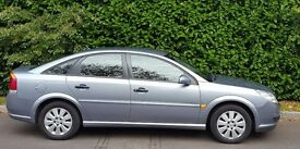 SILVER VAUXHALL VECTRA 1.8 07 PLATE LOW MILEAGE MOT TILL JUNE 2017