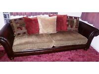 Real Leather DFS Sofa. Very good condition