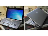 "Brilliant condition upgraded silver HP Mini 10.1"" netbook. 2GB RAM. 160GB hard drive. Webcam. WiFi."
