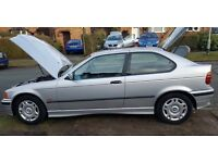BMW 316i Compact - Long MOT - 1 Previous Owner - Excellent Condition - Completely standard example!