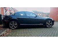 MAZDA RX8 2004 (54) Black 12 Months MOT Low Mileage