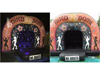 Bouncy Castle & Disco Dome Hire From £50. Great Prices & Great Service. Call today
