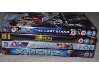 X-men DVD Boxsets