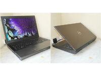 """Dell M6600 17.3"""" Quad-Core i7 Extreme Mobile workstation. 8GB RAM. 2GB GPU. 1TB HDD."""