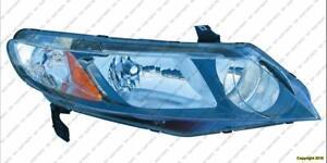 Head Lamp Passenger Side[Hybrid 2006-2011] [Sedan 2009-2011] High Quality Honda Civic