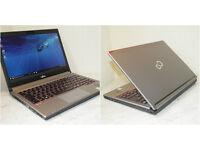 "Brilliant condition, superfast Fujitsu LifeBook E734 13.3"" laptop. 12GB RAM. 500GB SSHD. USB 3.0 etc"