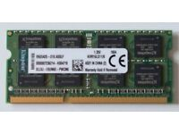 RAM SODIMM Kingston 8GB