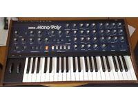 Original Korg Monopoly analog Synthesizer.