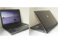 "Mega fast HP ProBook 15.6"" Core i5 laptop with 8GB RAM. 320GB hard drive. Intel HD Graphics 3000."